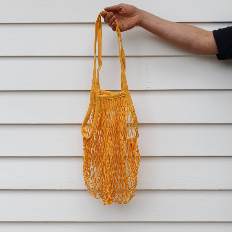 French Grocery Bag - Gold