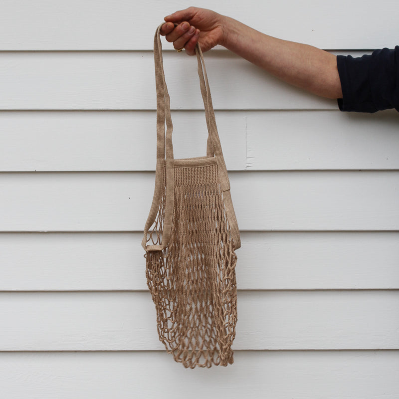 French Grocery Bag - Taupe