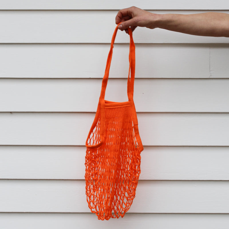 French Grocery Bag - Orange