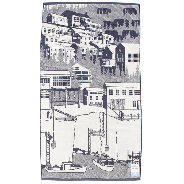 Beach Towel - Harbor Village