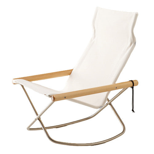 Ny Chair X Rocking - White