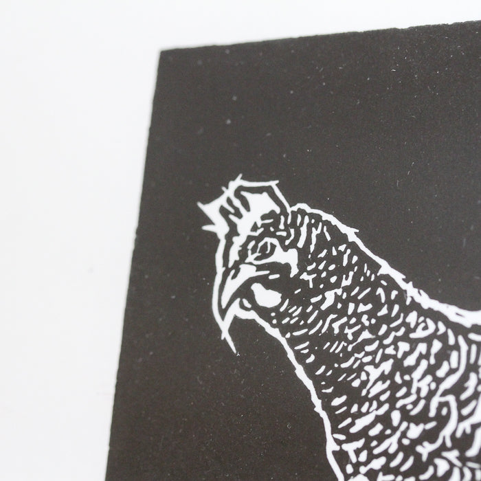 """PECK"" - Limited Edition Linocut Print"