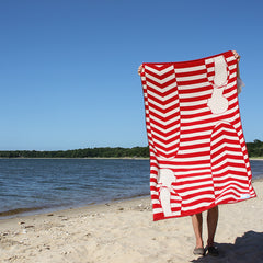Beach Towel - Vintage Surfers