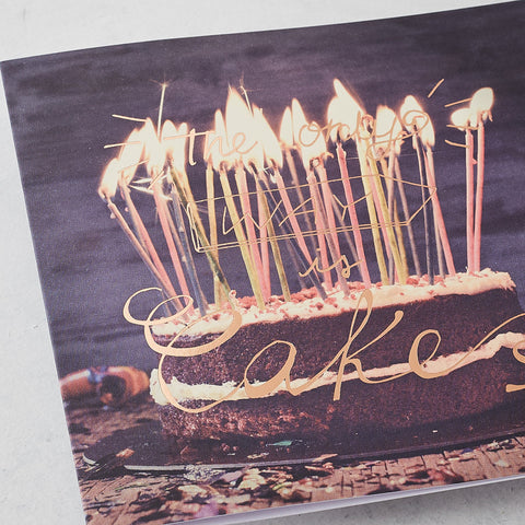 The Only Way is Cake, Photographic Card with Rose Gold Foil