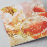Here's To Yet Another Fabulous Year, Photographic Card with Rose Gold Foil
