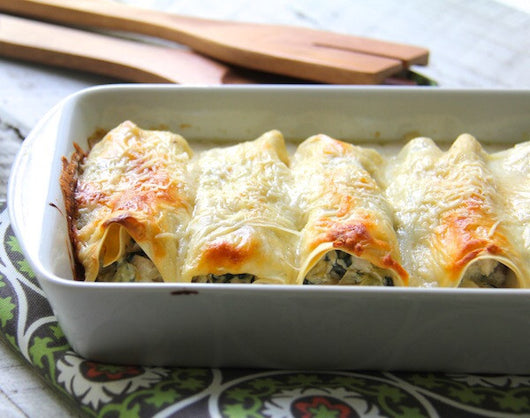 chicken spinach cannelloni