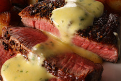 ribeye with bearnaise sauce