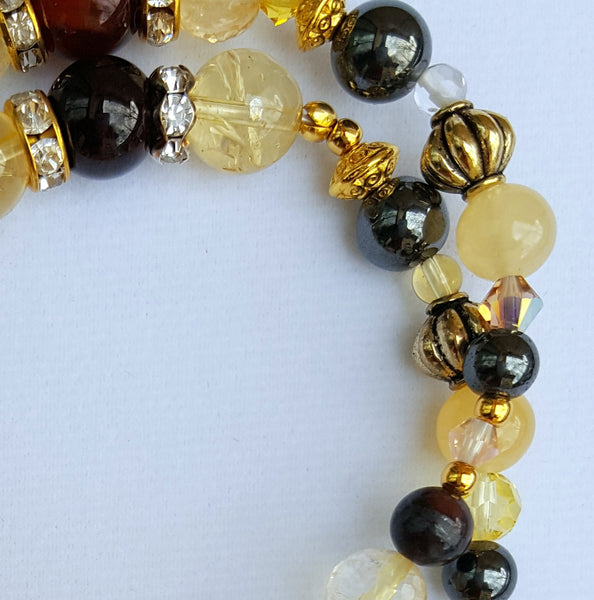 Ur In Trouble Bracelet-crystal healing for bladder health bracelet - Naked Fairy Apothecary