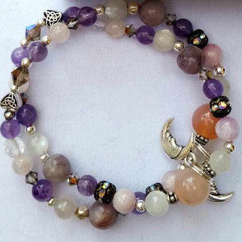 Itchy, Bitchy and Twitchy Bracelet bracelet - Naked Fairy Apothecary