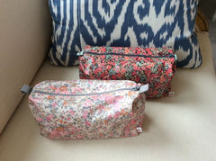 Bonpoint Liberty Print Floral Coated Pouch
