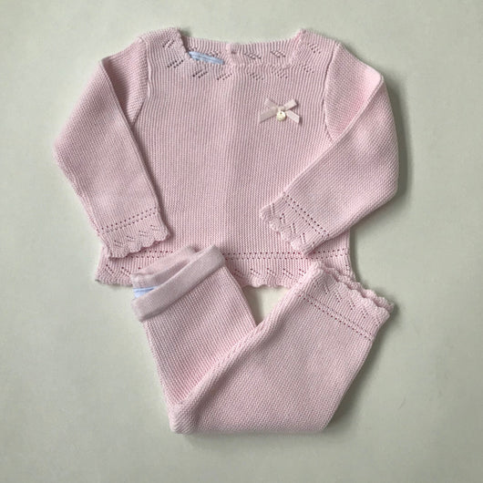 Tartine et Chocolat Pale Pink Cotton Outfit