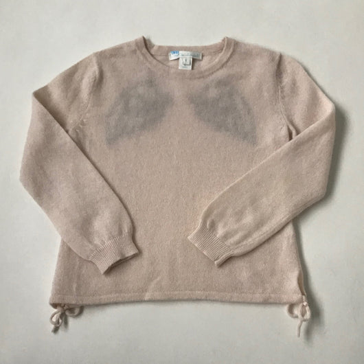 Marie-Chantal Pale Pink Angel Wings Cashmere Jumper