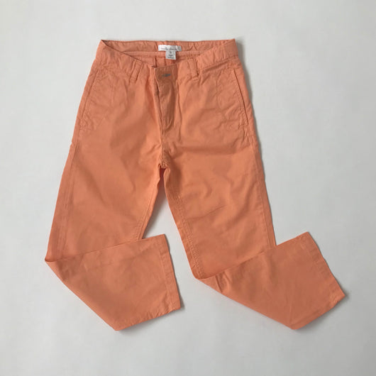 Marie-Chantal Orange Cotton Chinos: 5 & 6 Years