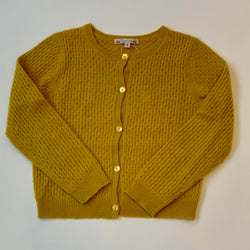 Bonpoint Ochre Cashmere Cardigan: 8 Years