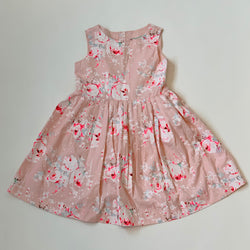 Bonpoint Pink Floral Dress With Neon: 8 Years