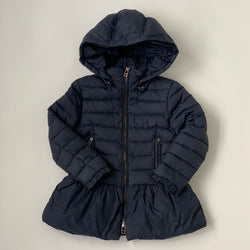 Pinko Navy Down Filled Coat: 3-4 Years