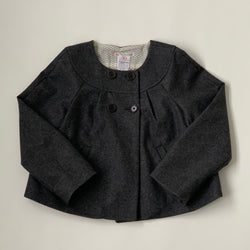 Bonpoint Grey Wool Jacket: 8 Years