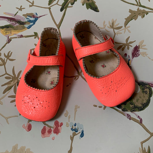 Bonpoint Pink Baby Mary-Janes