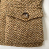 Ralph Lauren Tan Tweed Riding Style Jacket