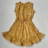 Zimmermann Yellow Paisley Dress: 8 Years