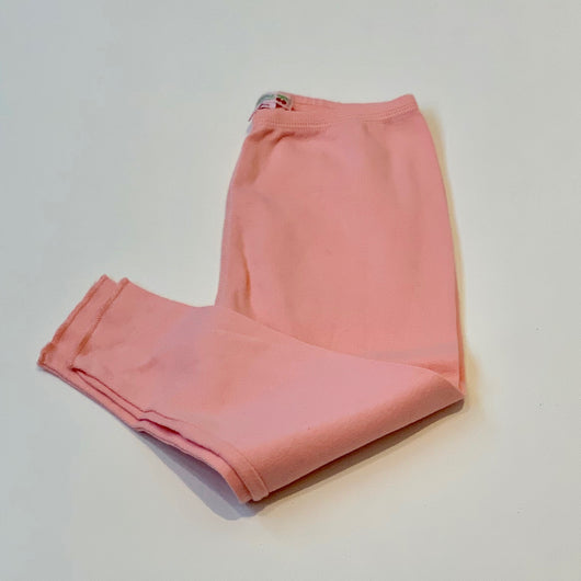 Bonpoint Pink Cotton Leggings