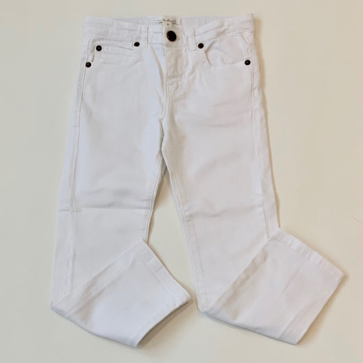 Marie-Chantal White Denim Jeans: 6 Years