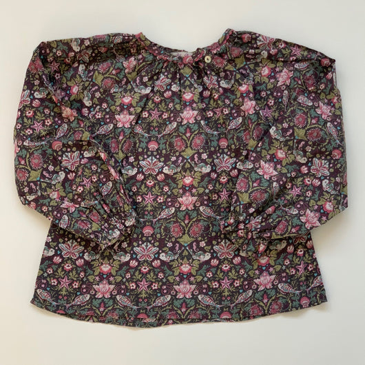 Poppy Rose Liberty Print Blouse: 6-7 Years