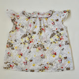 Bonpoint Floral Summer Blouse: 10 Years