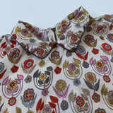 Bonpoint Liberty Print Blouse With Collar: 10 Years