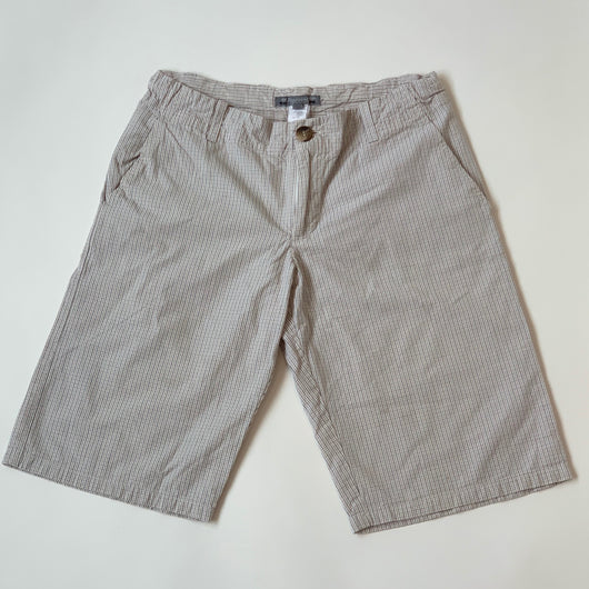 Bonpoint Check CottonShorts: 12 Years