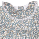 La Coqueta Liberty Print Dress With Collar: 18 Months (Brand New)