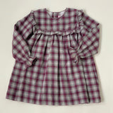 La Coqueta Tartan Dress With Frill: 3 Years