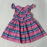 Ralph Lauren Pink & Blue Stripe Dress: 2 Years