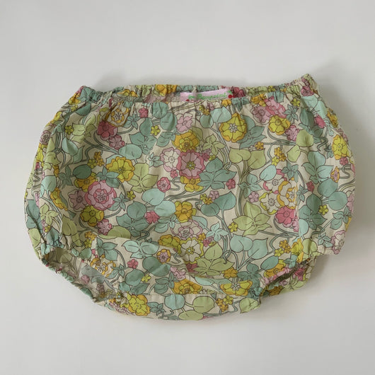 Bonpoint Green Liberty Print Bloomers: 2 Years