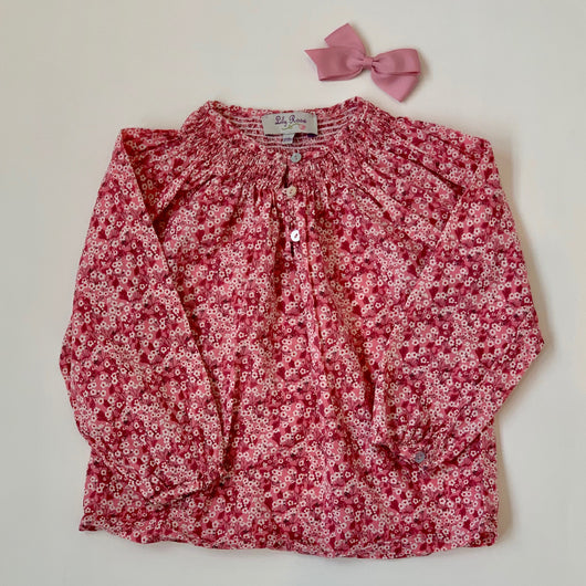 Lily Rose Liberty Print Blouse: 12-18 Months