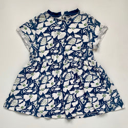 Stella McCartney Blue Print Dress: 4 Years