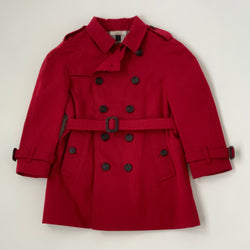 Burberry Classic Red Wiltshire Raincoat: 2 Years