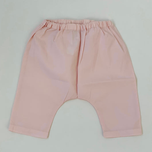 Bonpoint Pale Pink Cotton Trousers: 6 Months