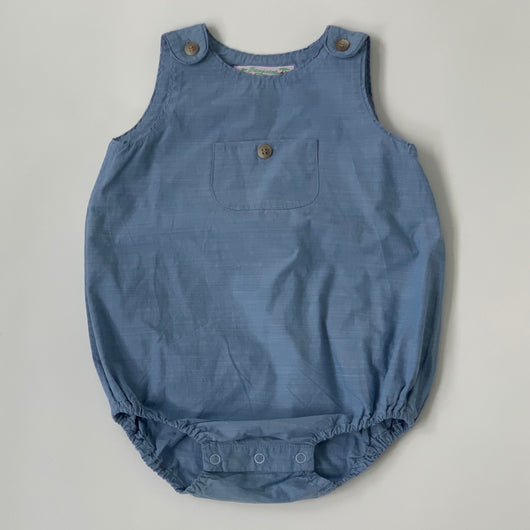 Bonpoint Chambray Romper: 12 Months