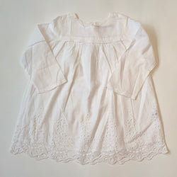 Bonpoint White Broderie Anglaise Cotton Dress : 2 Years