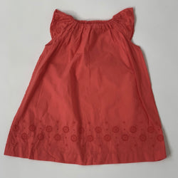 Bonpoint Coral Broderie Anglaise Dress: 2 Years