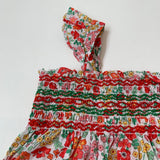 Jacadi Red Toned Liberty Print Sundress And Hat:  2 Years