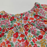 Jacadi Red Toned Liberty Print Blouse:  2 Years