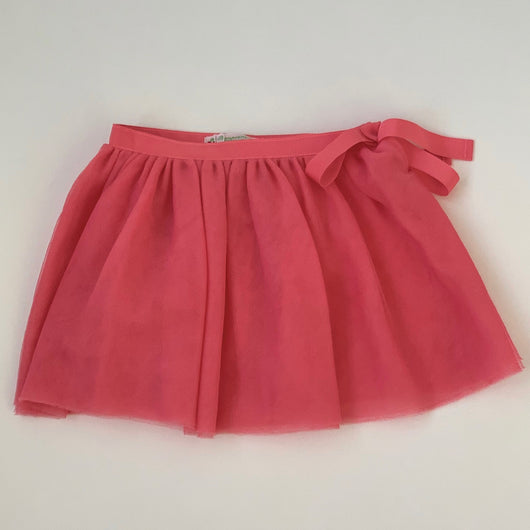 Bonpoint Raspberry Tulle Skirt: 2-3 Years