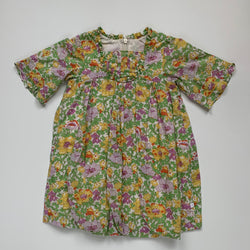 Cacharel Yellow Floral Print Dress: 12 Months