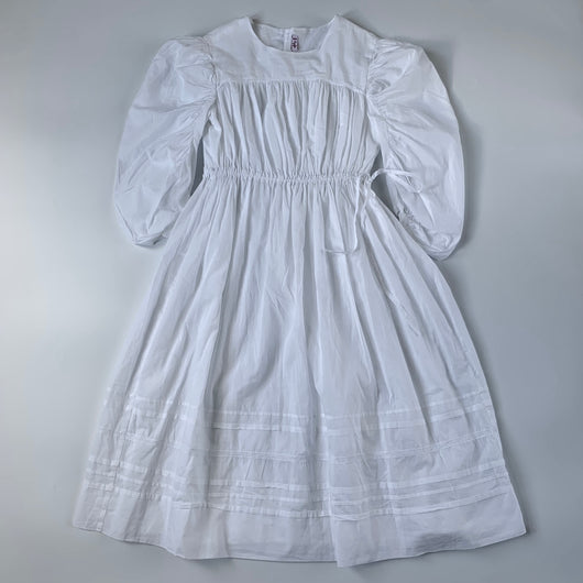 Il Gufo White Cotton Dress: 12 Years