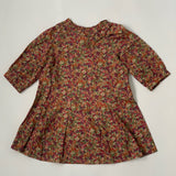 Bonpoint Autumnal Toned Liberty Print Dress: 3 Years