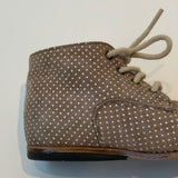 Bonpoint Polka Dot Suede Boots: Size 19