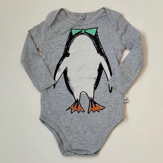 Stella McCartney Penguin Print Bodysuit: 9 Months