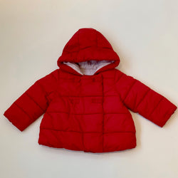 Jacadi Red Padded Coat: 2 Years